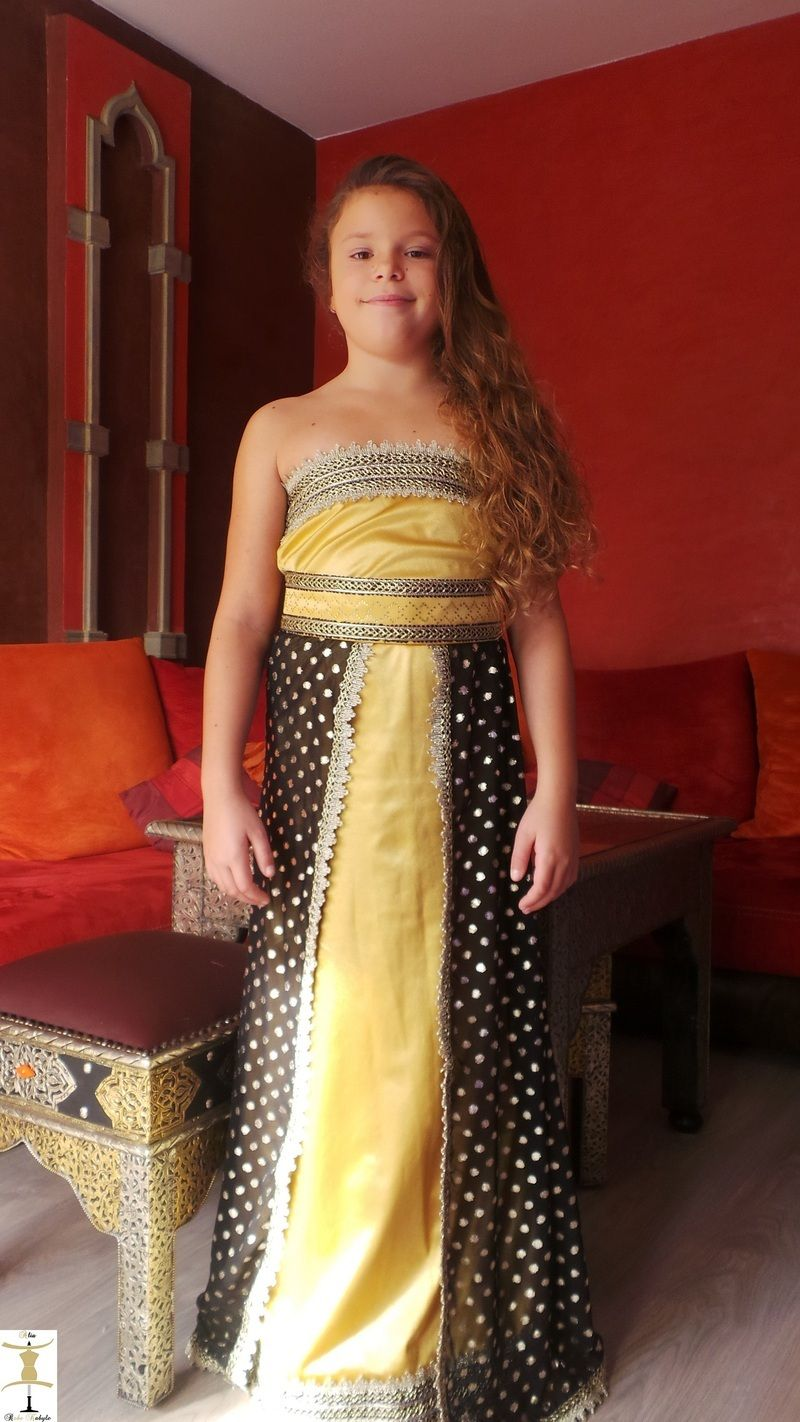 Robe kabyle jaune 2016